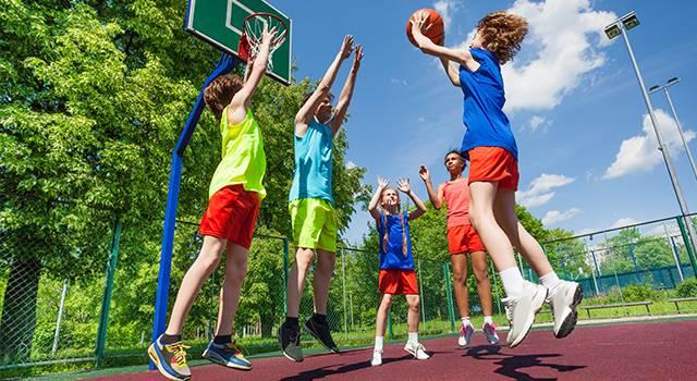 Children Basketball Sports Safety