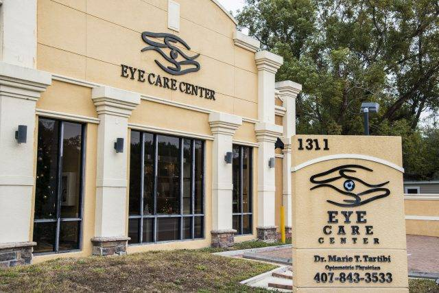 Marie Tartibi Eye Care Center Staff and building photography in Orlando, FL