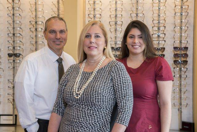 Marie Tartibi Eye Care Center Staff and building photography in Lake Mary, FL