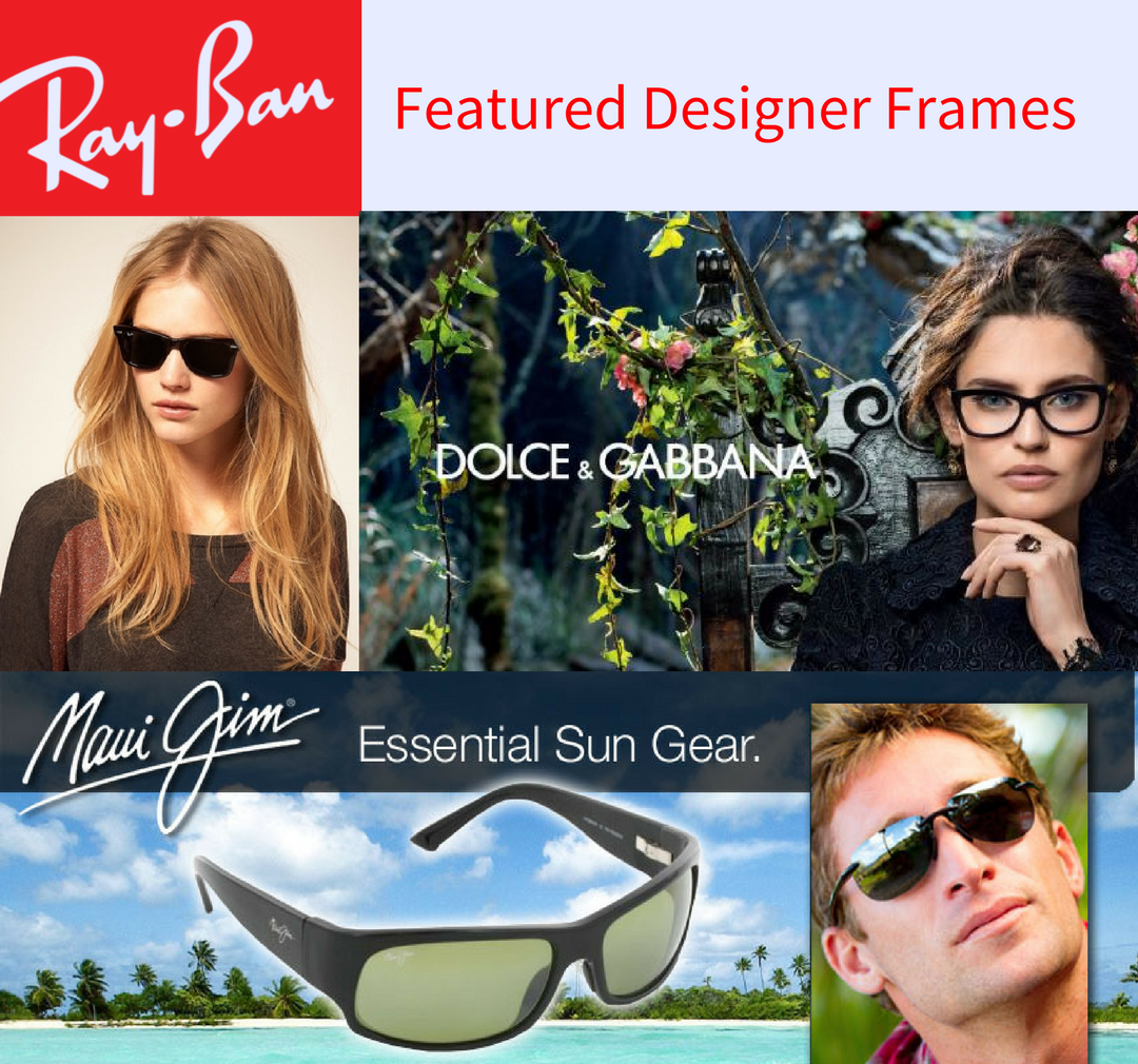 Featured Frames Ray Ban DG Maui Jim