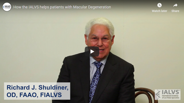 Screenshot 2019 03 30 How the IALVS helps patients with Macular Degeneration YouTube