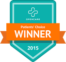 Dr Stewart patients choice winner 2015
