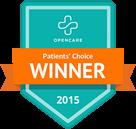 Dr Stewart patients choice winner 2015
