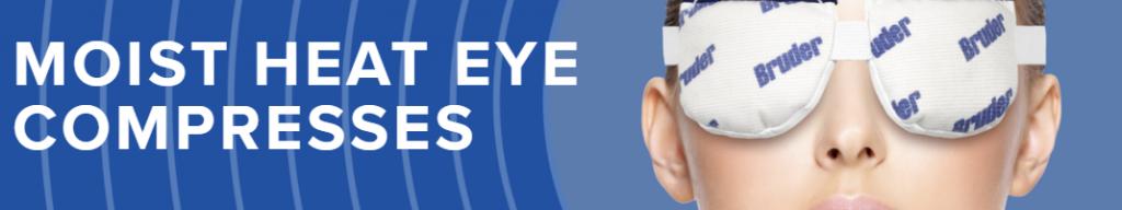 BRUDER Moist Heat Eye Compress
