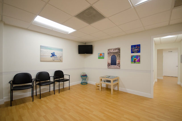 Vision Therapy seating area - Vision Therapy at Exceptional Vision in Miami, Florida
