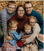 Dr Belill Family in Clio, Michigan
