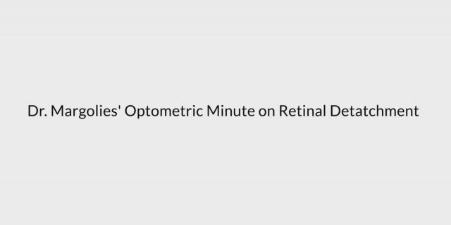 Retinal detachment (2)