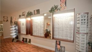 Vision Optometry optical displays