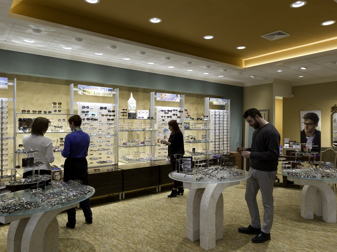 Opticians at Eye Doctors Optometrists in Guildford, Old  Saybrook, and Deep River, CT
