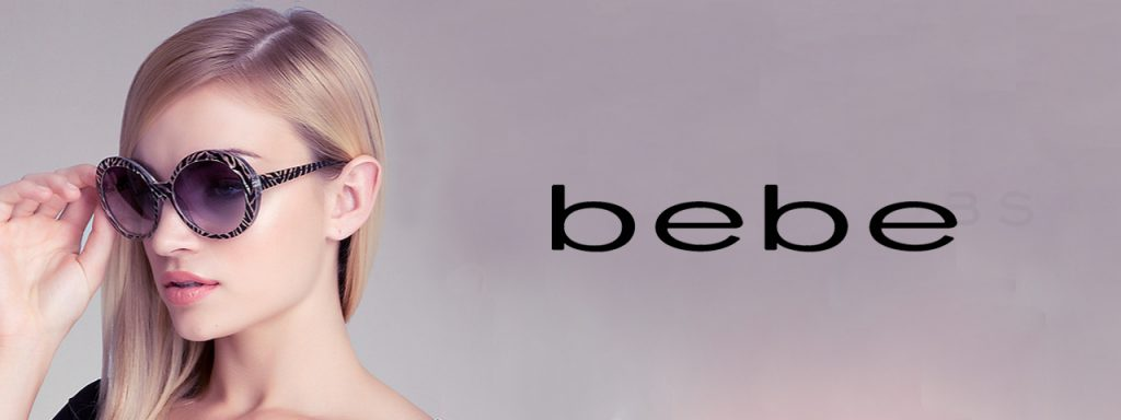 bebe sunwear and eyeglasses with prescription or without