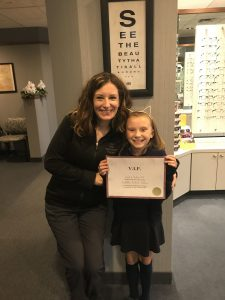 Vision Therapy Graduation
