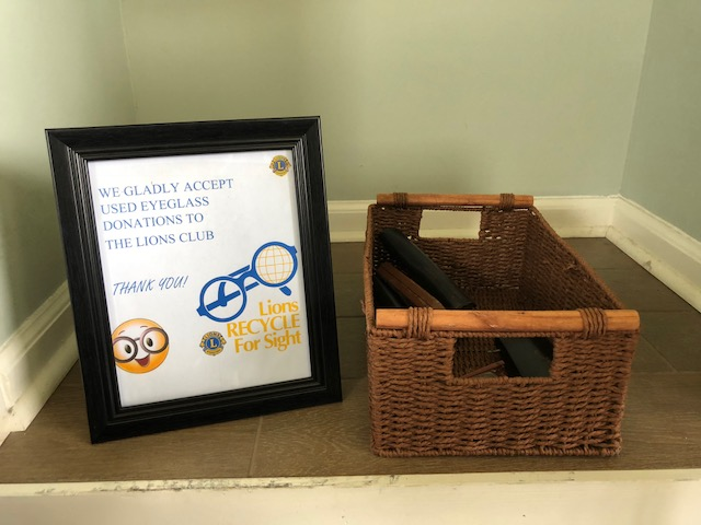 Donation Box for Eyeglasses in West Milford