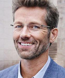 Model wearing Silhoutte eyeglasses