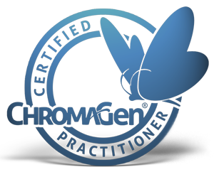 Certified practitioner of ChromaGen Logo