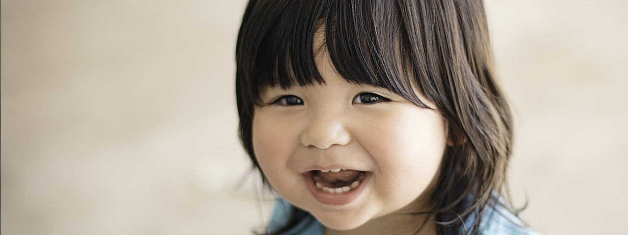 Cute Happy Toddler 1280x480