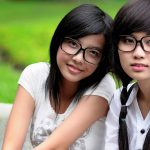 girls with glasses