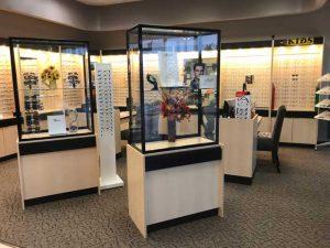 crystal eye care interior
