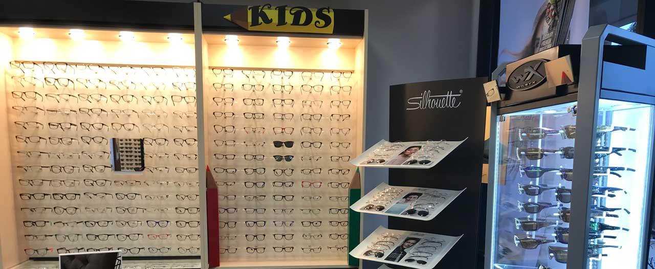 eyeglases at crystal eye care
