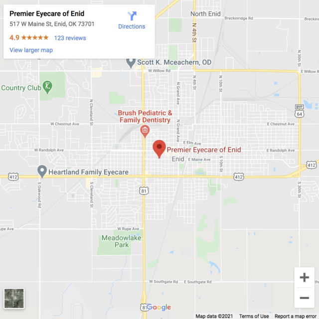 Your eye care clinic in Enid - Premier Eyecare of Enid
