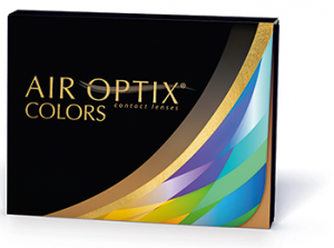 Eye exam, Air Optik colors contact lenses in Austin, TX