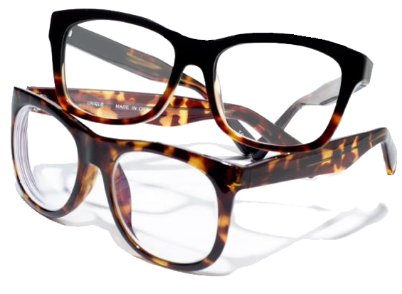 glasses brandless tortishell cutout