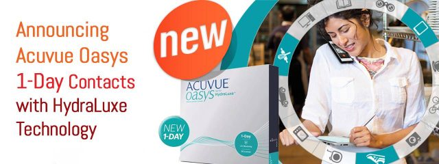 Eye care, box of acuvue contact lenses in Katy, TX