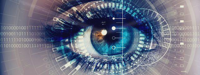 eye exam, Close up of woman's eyes in Katy, TX