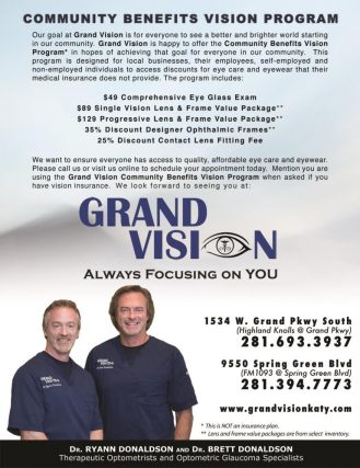 GV Comm Benefits VP Brochure 2019 Katy, TX