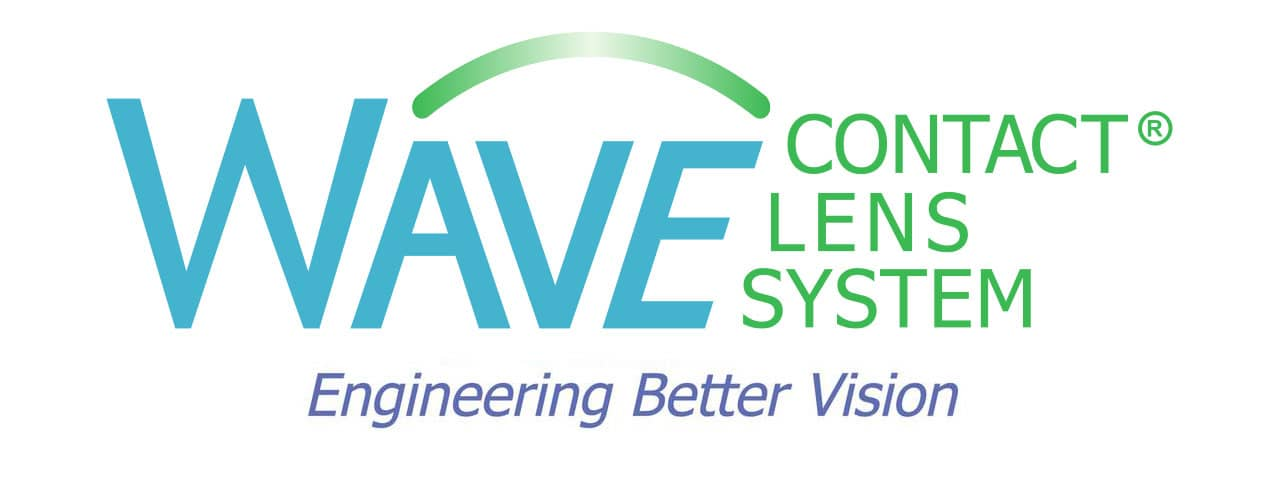 Wave contact lenses banner
