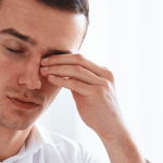 Man with Dry Eyes