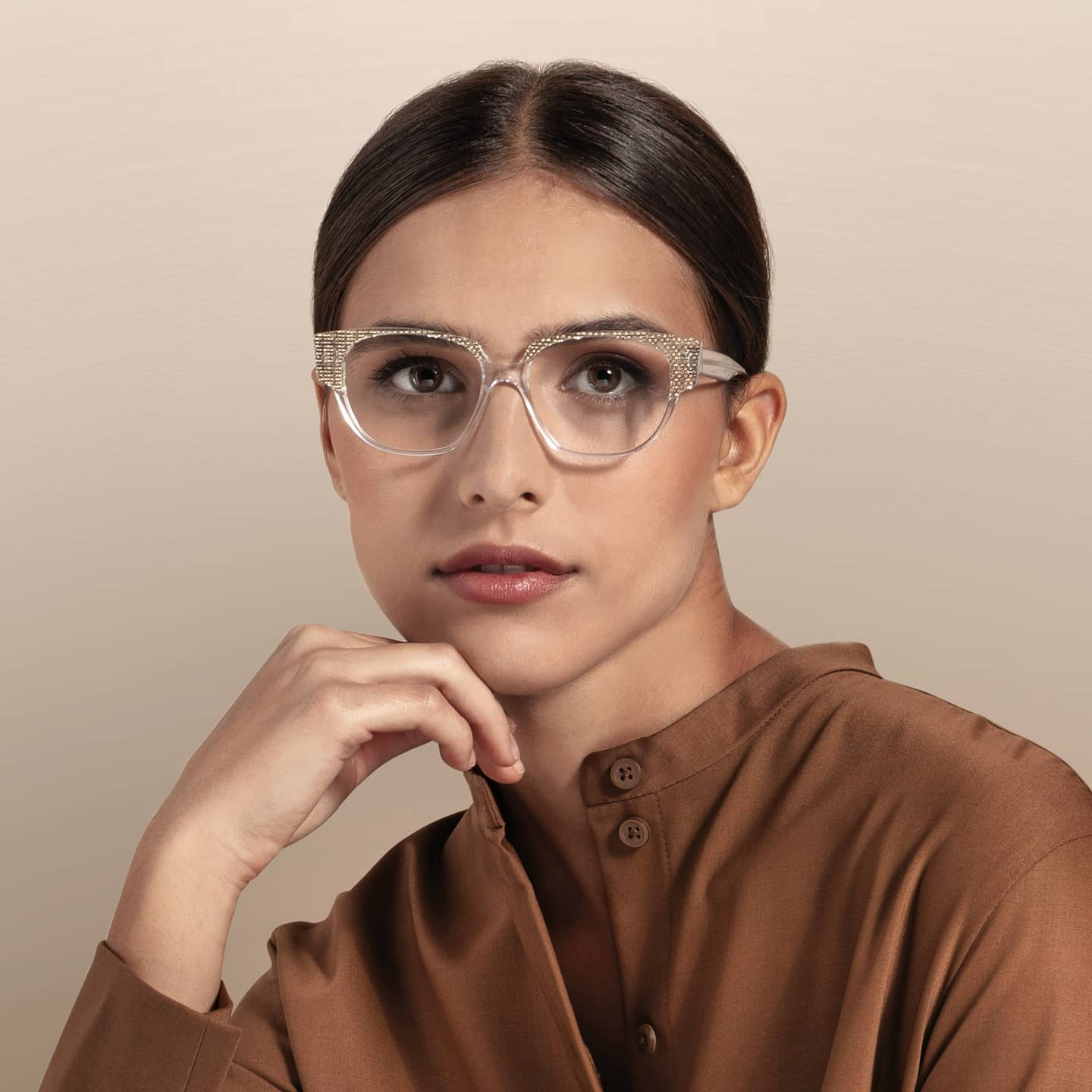 lafont woman eyeglasses brown feb 18 2021