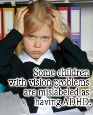 vision problem or learning disability