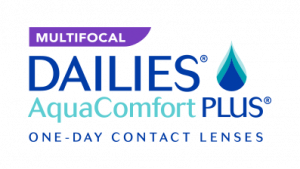 DAILIES AquaComfort PLUS Multifocal Spot Colors Logo