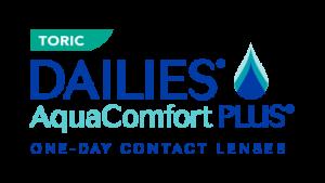 DAILIES AquaComfort PLUS Toric Spot Colors Logo   Copy