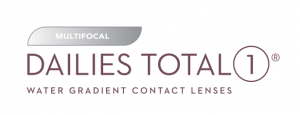 DAILIES TOTAL1 Multifocal Spot Colors Logo