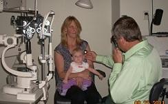 baby eye check
