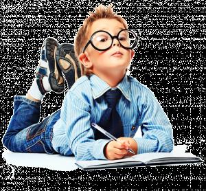 child smart school boy 300×278