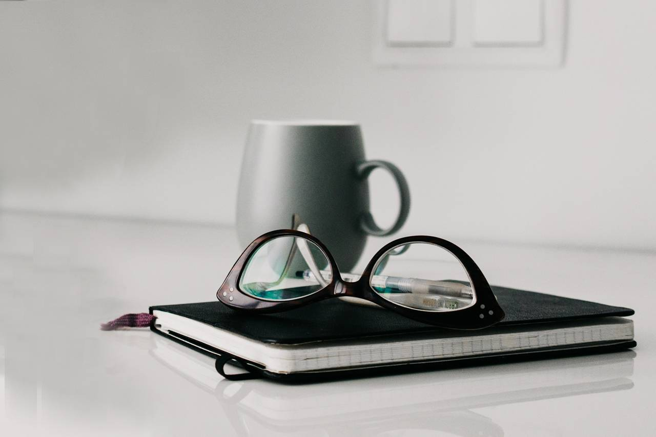 Glasses Notebook Mug 1280×853