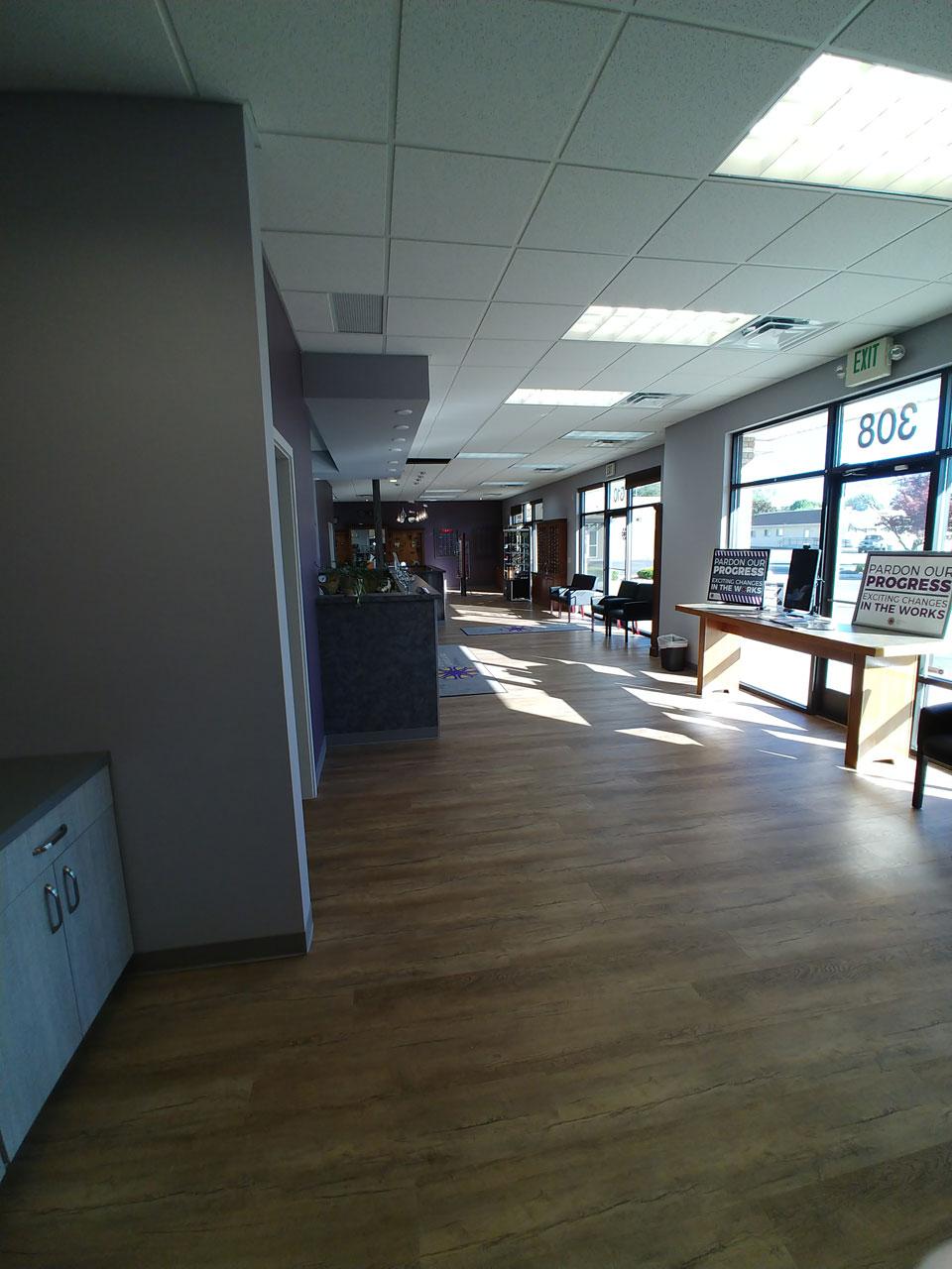Eyecare Associates of Nampa renovation