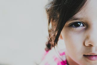 eye doctor, little girl with astigmatism in Miami, FL