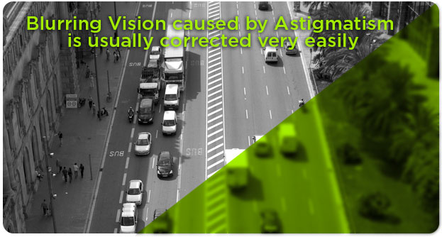 Astigmatism and blurred vision, Eye Doctor in Fort Worth, Texas
