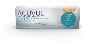 JJ 1 day acuvue oasys astigmatism