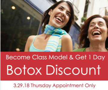 Kudo Care Class Botox Model