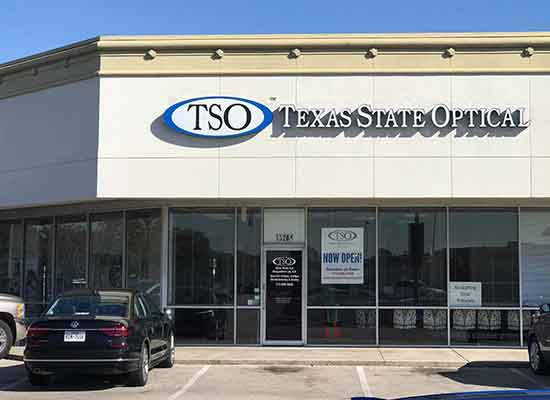 TSO Northwest eye care center storefront