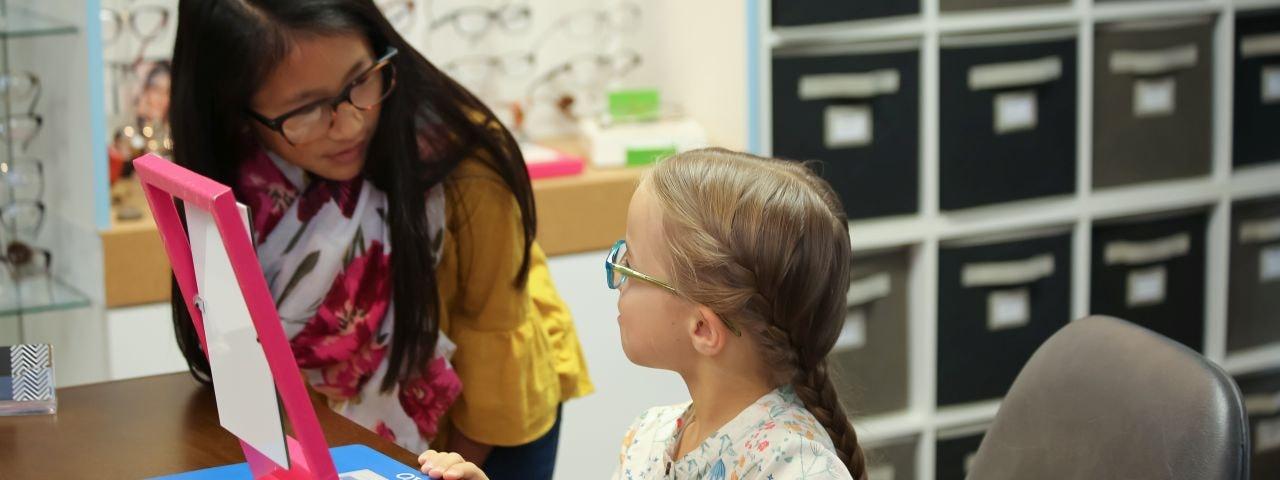 Kristin L. Campbell, OD Pediatric Eye Exams