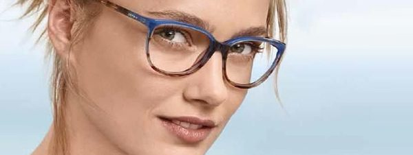 Eye doctor, woman wearing Esprit eyeglasses in Delaware, Ohio
