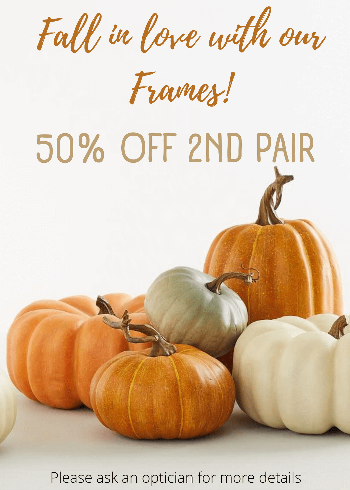 Fall in love with our Frames