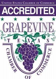 Grapevine Chamber Logo 2017 Accredited