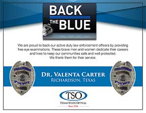 police eye exams plano tx