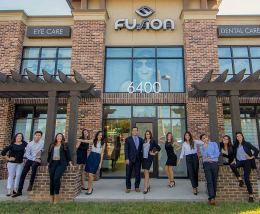 Fusion Office Staff Out Frnt